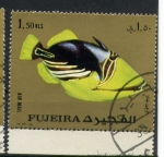 Stamps Asia - United Arab Emirates -  fauna marina