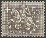 Stamps : Europe : Portugal :  caballero medieval