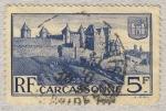 Stamps France -  Les Remparts à Carcassonne