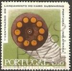 Stamps : Europe : Portugal :  centº del lanzamiento del cabo marino  portugal-inglaterra