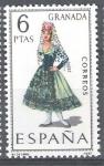 Stamps Europe - Spain -  Trajes típicos españoles. Granada.