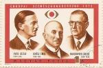 Sellos de Europa - Hungría -  EUROPAI SZMESZCONGRESSZUS 1972