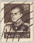 Stamps Asia - Iran -  sha reza pahlevi