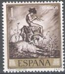 Sellos de Europa - España -  Mariano Fortuny Marsal. Idilio.