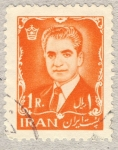Sellos de Asia - Irán -  sha reza pahlevi