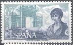 Sellos de Europa - España -  Personajes españoles. Agustina de Aragón.