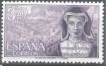 Sellos de Europa - España -  Personajes españoles. María Pacheco.
