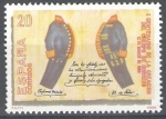 Stamps Spain -  I Centenario de la creación del Cuerpo de Correos. Uniformes.
