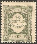 Stamps Europe - Portugal -  porteado 1/2 centavo a receber