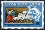 Sellos de Europa - Hungría -  II Centenario Correo