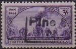 Sellos de America - Estados Unidos -  USA 1943 Scott 922 Sello Tren Transcontinental Pintura usado Estados Unidos Etats Unis