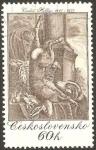 Stamps Czechoslovakia -  vaclav hollar, grabador, III centº de su fallecimiento