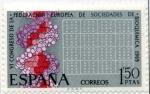 Sellos de Europa - España -  Congreso Eur. Sociedades Bioquimica
