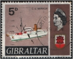 Sellos del Mundo : Europa : Gibraltar : C.S. Mirror