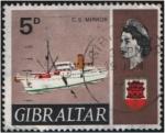 Stamps : Europe : Gibraltar :  C.S. Mirror
