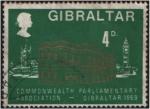 Stamps : Europe : Gibraltar :  Asoc. Parlamentaria de la Commonwealth