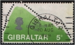 Stamps : Europe : Gibraltar :  Constitución de 1969