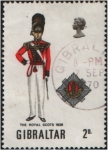Sellos del Mundo : Europa : Gibraltar : The Royal Scots 1839