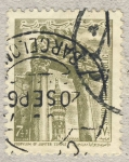 Stamps Asia - Syria -  Propylum of Jupiter temple