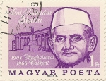 Stamps Hungary -  LAL BANADUR SHASTRI