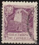 Sellos de Europa - España -  ESPAÑA 1944 977 Sello Milenario de Castilla. Avila 20c usado