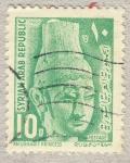 Stamps Syria -  Anugharit princess