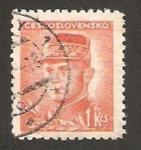 Sellos de Europa - Checoslovaquia -  Milan Rastilav Stefanik, astrónomo y politico