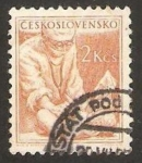 Stamps : Europe : Czechoslovakia :  pediatra