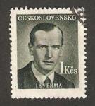 Stamps Czechoslovakia -  J. Sverma, escritor