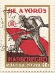 Stamps Hungary -  BE A VÖRÖS