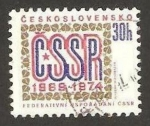 Stamps Czechoslovakia -  Anivº  federacion socialista CSSR 1969.1974