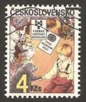 Sellos del Mundo : Europa : Checoslovaquia : 2644 - X Bienal de ilustraciones para libros infantiles, en Bratislava