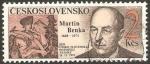 Sellos de Europa - Checoslovaquia -  2908 - Día del sello, Martín Benka, grabador