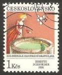 Stamps Czechoslovakia -  XIII bienal de las ilustraciones en bratislava