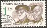 Sellos del Mundo : Europa : Checoslovaquia : reinhard heydrich, nazi, atentado del 27-5-1942