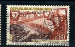 Sellos de Europa - Francia -  estructuras para el voltage