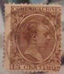 Sellos de Europa - España -   Alfonso XIII Típo pelón.