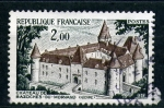 Stamps France -  Castillo de Bazoches du Morvand