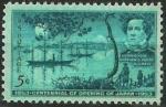 Stamps United States -   Tratado comercio  con Japón