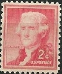 Stamps United States -  Jefferson