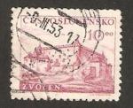 Stamps Czechoslovakia -  514 - V anivº de la rebelión eslovaca, castillo de Zvolen ( Eslovaquia)