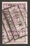 Stamps : Europe : Belgium :  ferrocarriles, spoorwegen