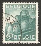 Stamps : Europe : Belgium :  exportacion, industria quimica