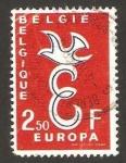 Sellos del Mundo : Europa : Bélgica :  Europa Cept