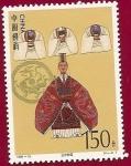 Sellos de Asia - China -  Literatura - El Romance de los tres  Reyes