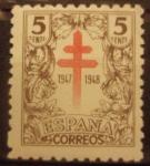 Sellos de Europa - España -  Pro Tuberculosis. (1017)