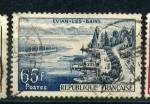 Stamps France -  balneario en evian