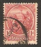 Sellos del Mundo : America : Barbados : carroza real