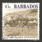 Sellos del Mundo : America : Barbados : 375 anivº de la colonizacion