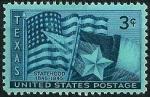 Stamps United States -   Estado de Texas